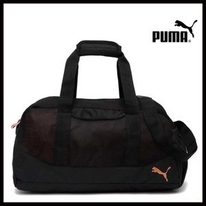 cb8e2df518 Puma Bags - PUMA BLACK DUFFEL TRAVEL GYM BAG